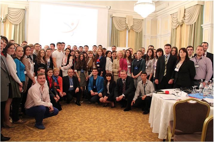 Участники второго Молодежного форума «Молдова нового поколения – 2014»